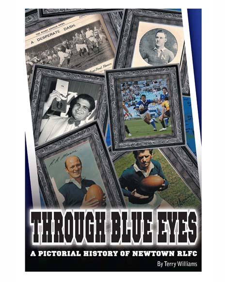 Through Blue Eyes - Soft Cover Book