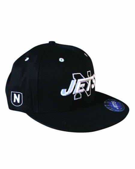 Black Snapback Cap