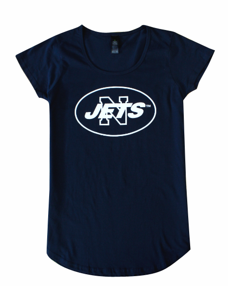 Navy Ladies T-Shirt