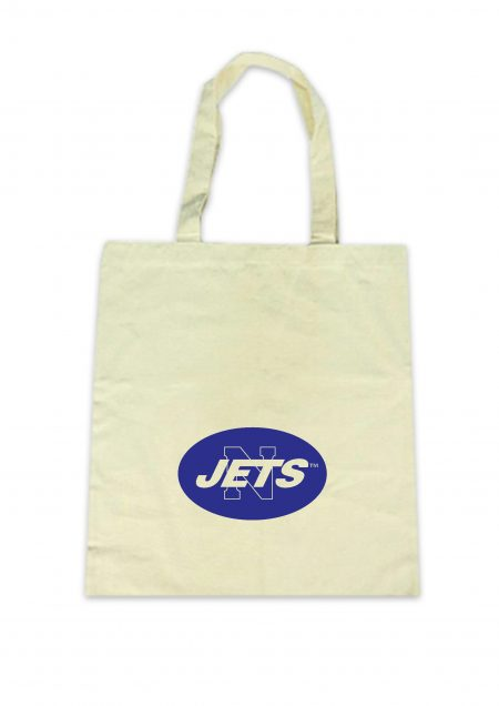 Newtown Jets Natural Cotton Tote Bag