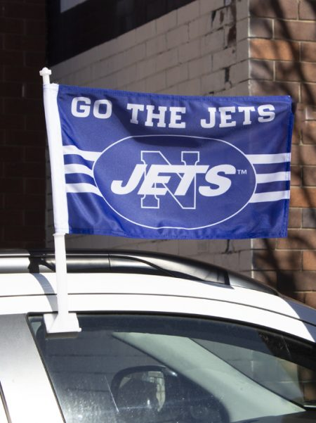 Jets Car Flag