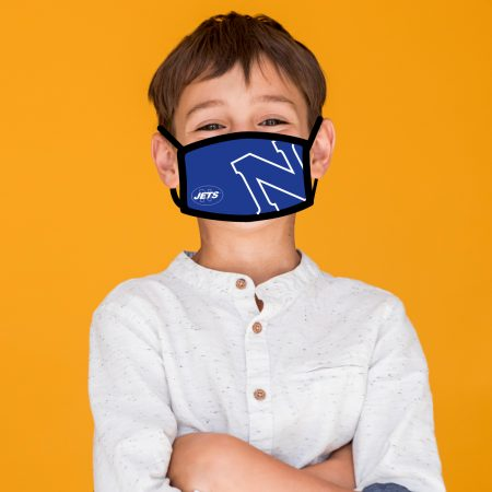 Newtown Jets Children's Facemask
